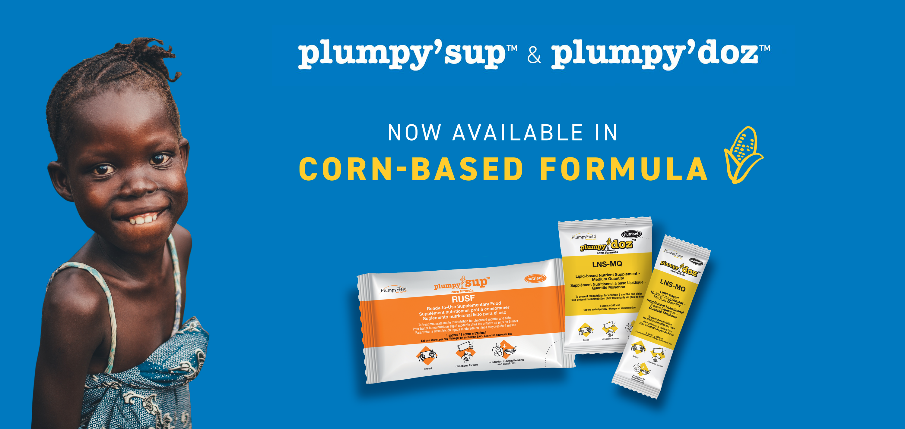 Corn formula available