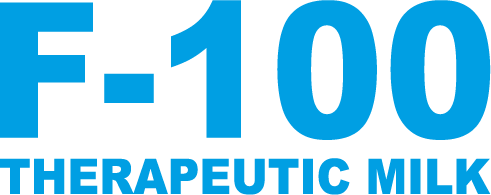 logo therapeutic milk F-100